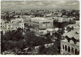 SOMALIA MOGADISCIO COLLEGIO REGINA ELENA 1957 Fg Vg - Somalia