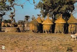 Afrique-BURKINA FASO Près De SABOU Province Boulkiemde Les Zaka Enclos  Familiaux Des Mossi (architecture)*PRIX FIXE - Burkina Faso