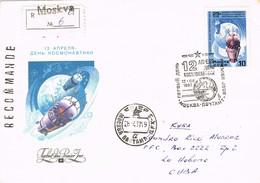 29587. Carta Certificada MOSCU (Moskva) Rusia 1987 To Habana, Cuba - 1923-1991 USSR
