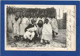 CPA Ethiopie Ethnic Afrique Noire Types Vice Gouverneur Du Harar Circulé - Ethiopië