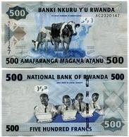 Rwanda - 500 Francs 2013 - Rwanda