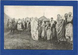 CPA Ethiopie Ethiopia Ethnic Afrique Noire Types Vieux Roi Des OROMOS Non Circulé Voir Scan Du Dos - Ethiopia