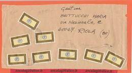 St.Post.4630A - STORIA POSTALE - Parte Frontespizio Di Bustone Viaggiato In Tariffa 4° Porto Prioritario L' 8.1.2000 - 6. 1946-.. Republik