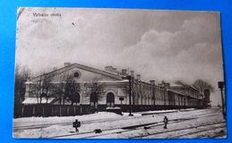Virbalis Virbalio Stotis Railway Bahnhof   1932 OLD POSTCARD 2 Scans - Lituanie
