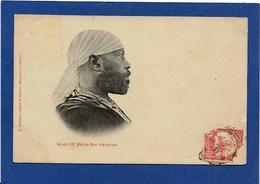 CPA Abyssinie Ethiopie Ethiopia Ethnic Afrique Noire Type Circulé Ménélik Empereur - Ethiopia