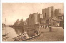 Castle Rushen & Harbour, Castletown, Isle Of Man - Isle Of Man