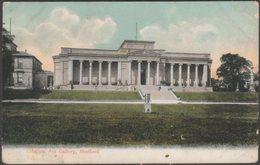 Mappin Art Gallery, Sheffield, Yorkshire, 1905 - Misch & Stock Postcard - Sheffield