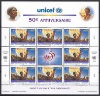 Ei_ UN UNO Genf - Mi.Nr. 301 - 302 - Postfrisch MNH - Kleinbögen - Unicef - Genf - Büro Der Vereinten Nationen