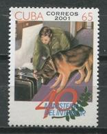 Cuba 2001 / Internal Affairs Ministry MNH Ministerio Del Interior  / Cu9112  C3 - Ungebraucht