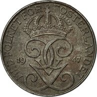 Monnaie, Suède, Gustaf V, 5 Öre, 1947, TTB, Iron, KM:812 - Suède