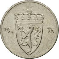 Monnaie, Norvège, Olav V, 50 Öre, 1975, TTB, Copper-nickel, KM:418 - Norvège