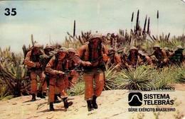 TARJETA TELEFONICA DE BRASIL (EJERCITO BRASILEÑO, COMBATENTE DE CAATINGA - 06/96) (114) - Armada