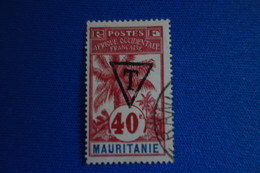 MAURITANIE TAXE N° 6  Signé. C.900 Eu Rare - Mauritania (1906-1944)