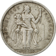 Monnaie, French Polynesia, 2 Francs, 1965, Paris, B+, Aluminium, KM:3 - Polynésie Française