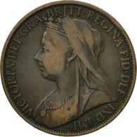 Monnaie, Grande-Bretagne, Victoria, Penny, 1898, TTB+, Bronze, KM:790 - 1816-1901 : Frappes XIX° S.