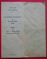 Atlas Anatomie Plastique Par Rondest Sculpteur & Dr Meillère Chirurgien Paris édit Henri Laurens Paris - Maps/Atlas
