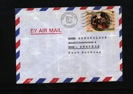 Burundi 1981 Interesting Airmail Letter - Burundi