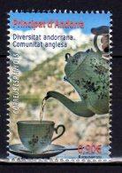 2015 Spanish Andorra -Diversity In Andorra - British Society. Tea Culture -MNH** MI 429 (zz) Tea Cup And Tea Pot - Getränke