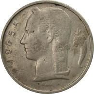Monnaie, Belgique, 5 Francs, 5 Frank, 1965, TB, Copper-nickel, KM:134.1 - 1951-1993: Baudouin I