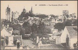 Vue Générale, Nord, Loches, Indre-et-Loire, C.1920s - Lévy Et Neudein CPA ND23 - Loches