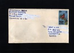British Virgin Islands  Interesting Airmail Letter - British Virgin Islands