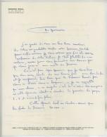 LAS Edmond Rigal (graveur Et Peintre ) 1955 + LAS Albert Decaris . Malentendu Sur Le Prix D'une Commande . - Autographs