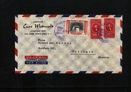 Costa Rica 1961  Interesting Airmail Letter - Costa Rica