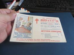 Carnet Vignette Ecriture Mixte FRANCE-BELGIQUE,TUBERCULOSE,metiers Du XVI Siecle Voir Couleur Vignette - Commemorative Labels