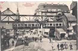 BARMEN  Schwebebahn Bahnhof .. TTBE - Wuppertal