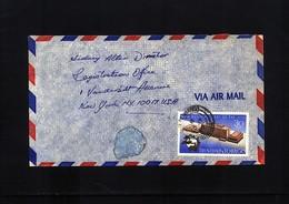 Trinidad&Tobago 1970  Interesting Airmail Letter - Trinidad & Tobago (1962-...)