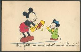 BELGIUM MICKEY MOUSE Carte Obl. Dc UCCLE 17-XI-1943 Vers Louvain - 13083 - Bandes Dessinées