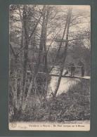 CPA (55) Vallée De La Biesme - Un Pont Rustique Sur La Biesme - France