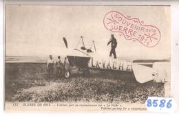 8586 LE POPULAIRE AVIATEUR VEDRINES SUR SON AVION LA VACHE NC - Aviatori