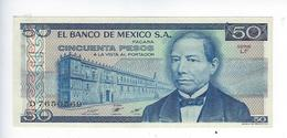 Billet Mexique 50 Pesos 1981 - Mexique