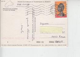 BURKINA FASO  2002 - Yvert  1268 - Statua - Burkina Faso (1984-...)