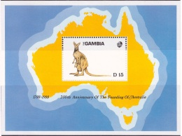 Gambie 1988 MNH** - Mammifères - Michel Nr. Bloc 48 (wag1007) - Gambia (1965-...)