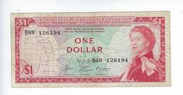 Billet East Caribbean 1 Dollar - Caraïbes Orientales