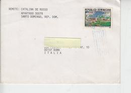 REPUBBLICA DOMINICANA  1993 - Yvert  1128 - Lettera  Per Italia - Repubblica Domenicana