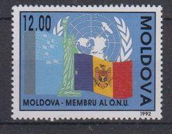 Moldova 1992 Member UNO 1v ** Mnh (40004) - Moldavië
