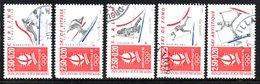 N° 2680,2709,39,40,42 - 1991- 92 - Francia