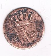 1 CENT  1827 NEDERLAND /4614G/ - [ 3] 1815-… : Kingdom Of The Netherlands