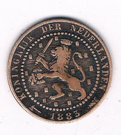 1 CENT  1883 NEDERLAND /4615G/ - [ 3] 1815-… : Kingdom Of The Netherlands