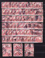 66x Mi 94 AI, Reichspostamt Berlin, Gestempelt (55731) - Used Stamps