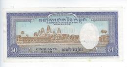 Billet Cambodge 50 Riels - Cambodge