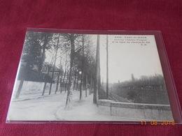 CPA - Parc-Saint-Maur - Avenue Charles Floquet Et La Ligne Du Chemin De Fer - Saint Maur Des Fosses