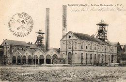 CPA - SOMAIN (59) - Aspect Des Chevalets De Mines De La Fosse De Sessevalle En 1926 - France