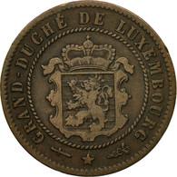 Monnaie, Luxembourg, William III, 5 Centimes, 1870, Utrecht, TB+, Bronze - Luxembourg