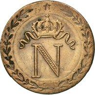 Monnaie, France, Napoléon I, 10 Centimes, 1809, Paris, B+, Billon, KM:676.1 - D. 10 Centimes