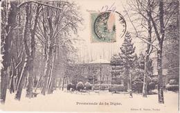 CPA - VERDUN Promenade De La Digue - Verdun