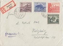 DR R-Brief Mif Minr.733,734,736,737 Berlin 26.2.40 - Deutschland